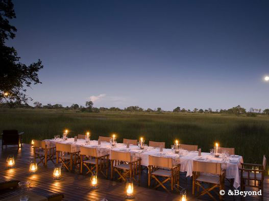 &Beyond camp in Botswana