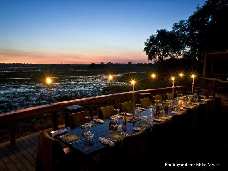 Mombo Camp in Okavango Delta, Botswana