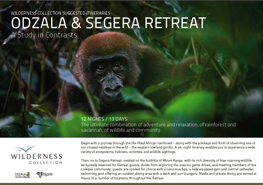 Segera Retreat and Odzala