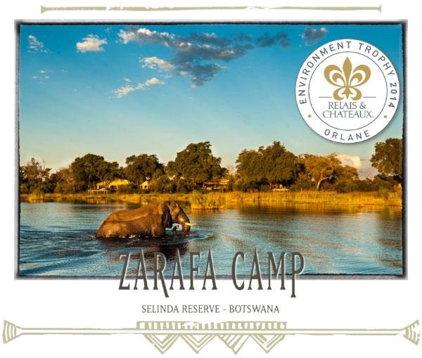 Zarafa Camp in Botswana - Africa Discovery