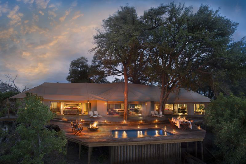 Zarafa Dhow Suites - Selinda Reserve - Botswana Luxury Safari Camp