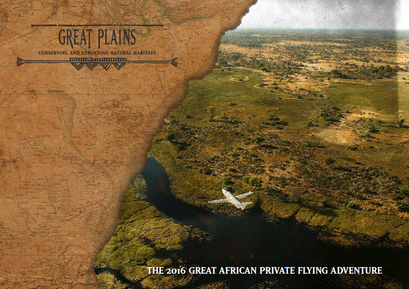 2016 Great African Flying Safari