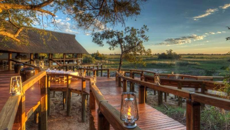 the new Camp Okavango, Desert & Delta Safaris