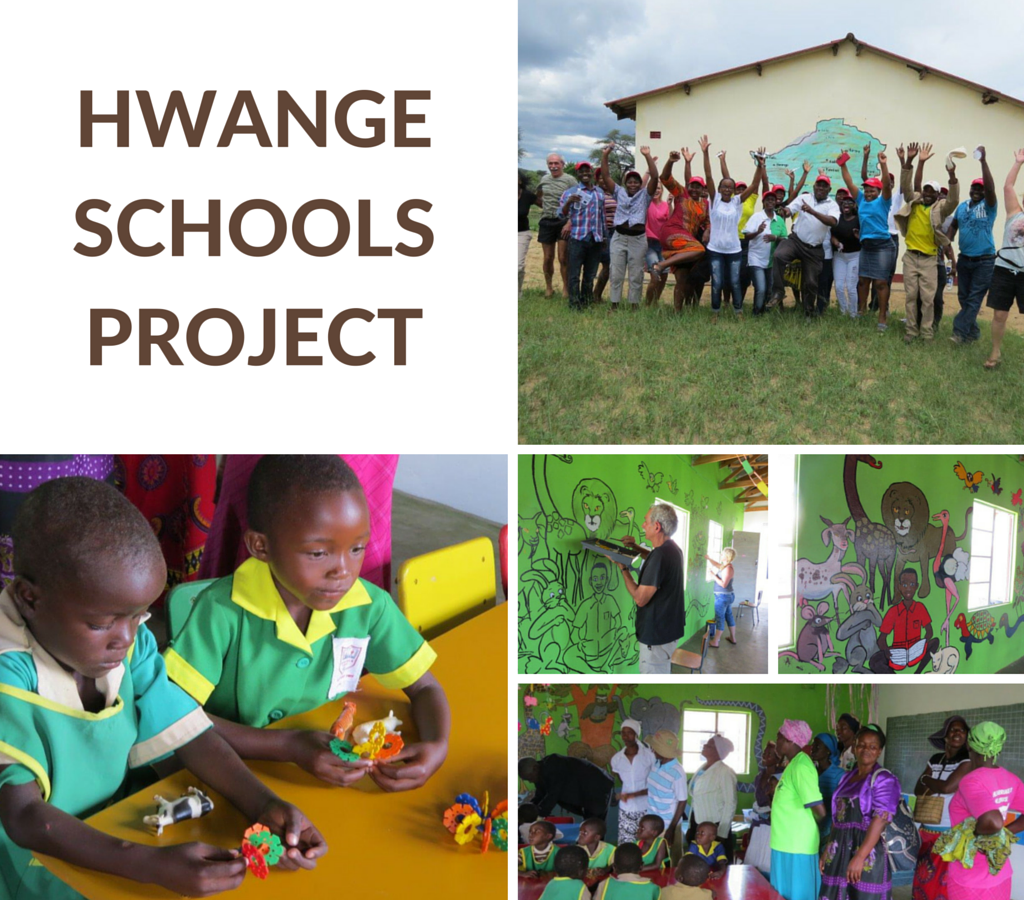 Hwange schools project, Imvelo Safari Lodges