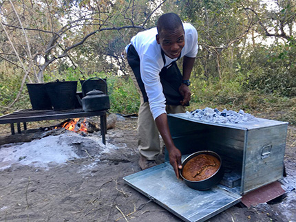 Cooking - On Foot Through Botswana | Botswana Safaris & Tours