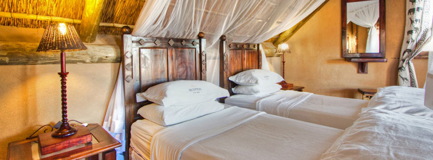 Deception Valley Lodge - Safari Camps in Central Kalahari Game Reserve, Botswana