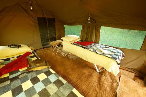 Bed - Letaka Tented Camp