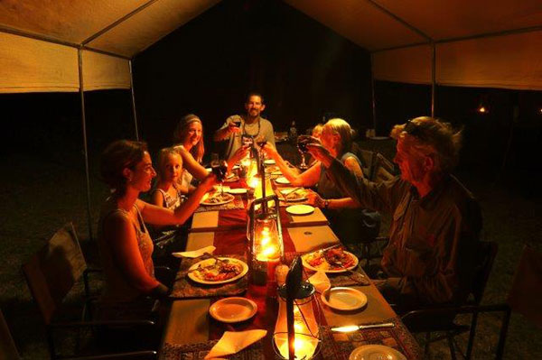 Dining tent - Letaka Tented Camp