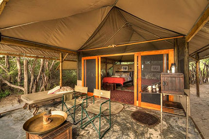The tent - Meno a Kwena Tented Camp | Safari Camps in Makgadikgadi Pans National Park | Africa Discovery