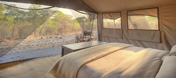 Tent interior - 8 Night Botswana Highlights Mobile Safari