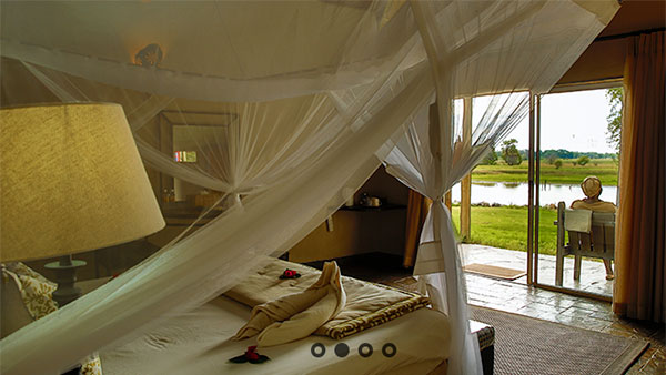 Thamalakane River Lodge in Maun, Botswana