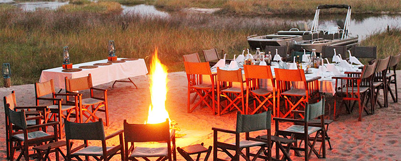 Motswiri Camp - Selinda Reserve - Botswana Safari Lodge