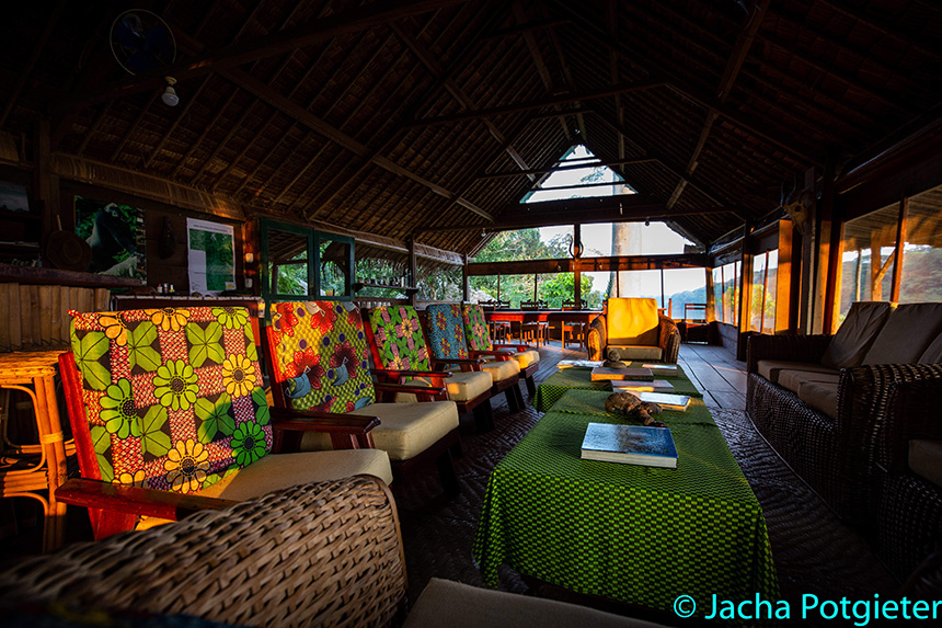 Main area - Sangha Lodge | Safari Camps in Dzangha-Sangha National Park, Central African Republic