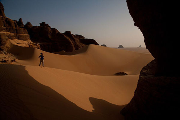 The dune in Ennedi - Chad