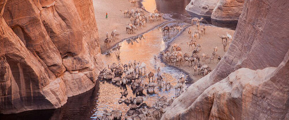 Ennedi Desert in Chad