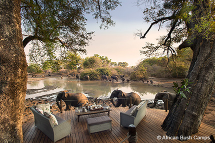 Kanga Camp, Mana Pools in Zimbabwe