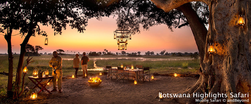 Botswana Highlights Safari - Mobile safaris