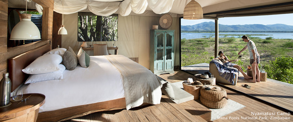 Nyamatusi Camp - Safari Camps in Mana Pools National Park, Zimbabwe