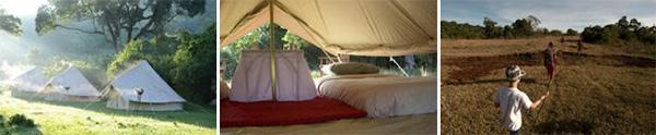 Camping - Loita Hills, Kenya