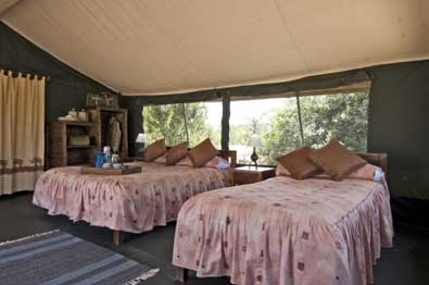 Porini Rhino Camp - Laikipia - Kenya Safari Tented Camp