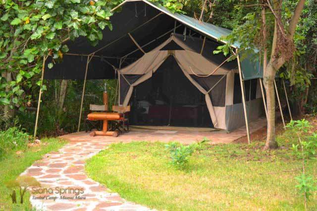 Siana Springs - Maasai Mara - Kenya Safari Tented C& & Siana Springs Tented Camp | Safari Camps in Maasai Mara Kenya ...
