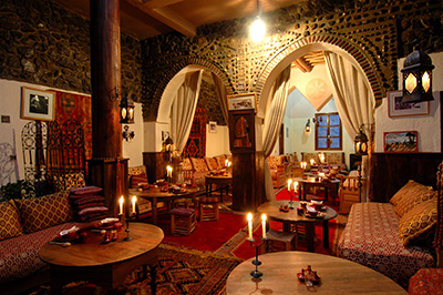 Dining room - Kasbah Du Toubkal in Toubkal National Park, Morocco