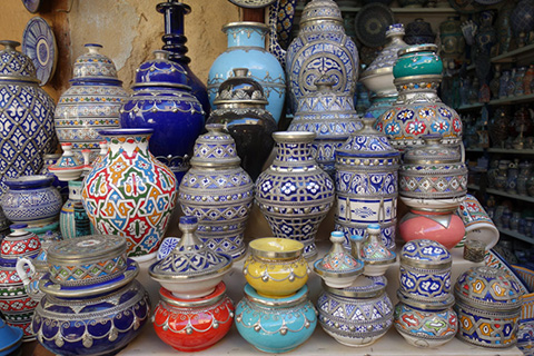 Ceramic shop in Medina