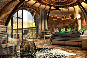 Bisate Lodge - Wilderness Safaris lodge in Rwanda