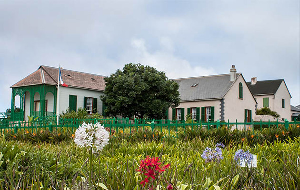 Longwood House where Napoleon Bonaparte lived and died - St Helena Island