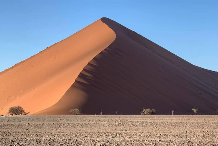 Sand dune in Sossosvlei, Namibia