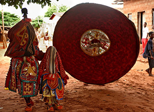 Egun Mask Dance - Ghana, Togo, Benin:  Festivals and Traditions, 12 Days