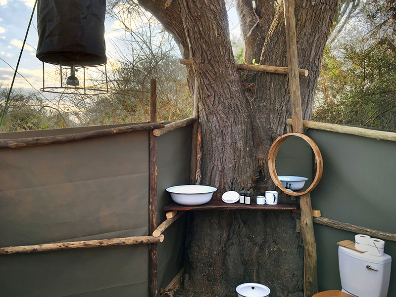 Bathroom - Ntemwa-Busanga Camp in Kafue National Park, Zambia
