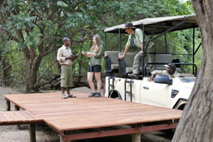 Potato Bush Camp - Lower Zambezi National Park - Zambia Safari Camp