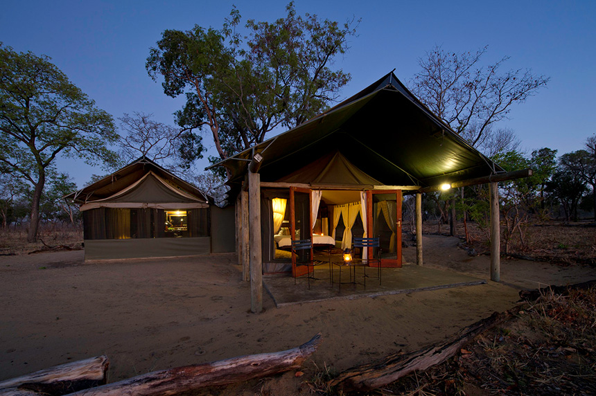 Davisons Camp - Hwange  National Park