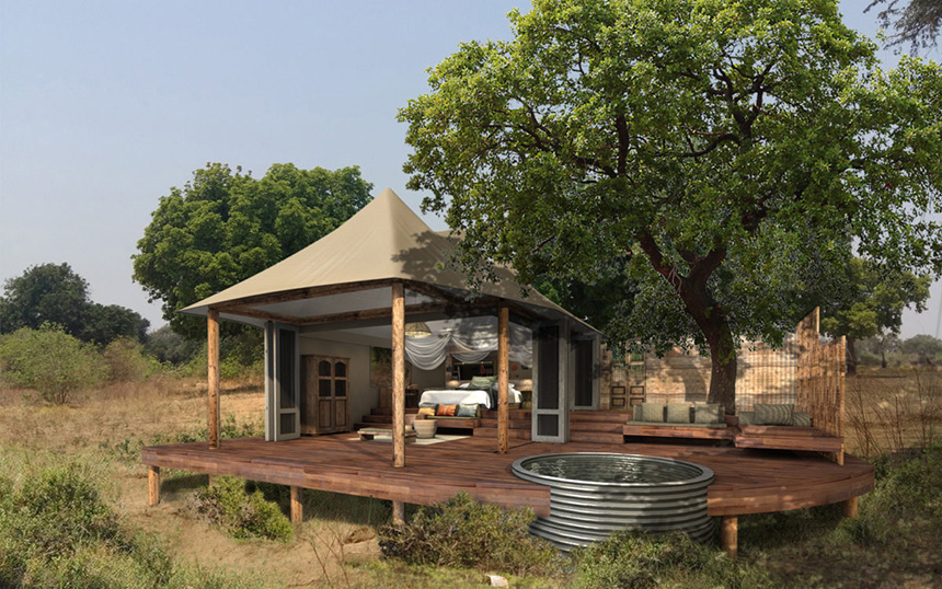 Nyamatusi Camp - Safari Camps in Mana Pools National Park, Zimbabwe - Africa Discovery